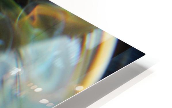 GalaxyInGlassV001 HD Sublimation Metal print