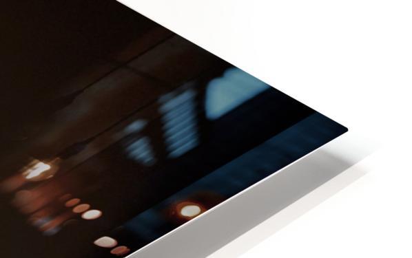 ReflectionInGlassF001 HD Sublimation Metal print