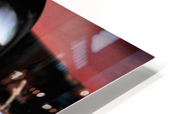 ReflectionInGlassF002 HD Sublimation Metal print