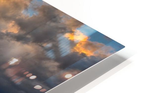 Fire Sky HD Sublimation Metal print