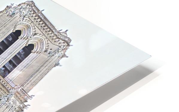 Notre Dame & Details HD Sublimation Metal print