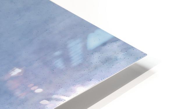 Sky & Eiffel HD Sublimation Metal print