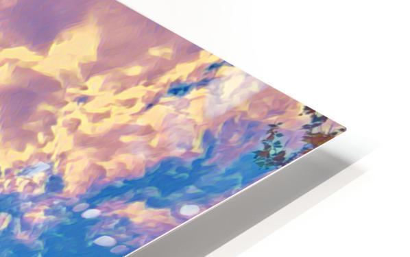 River & Eiffel  HD Sublimation Metal print