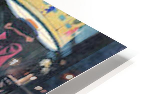 The visit -1- by Felix Vallotton HD Sublimation Metal print