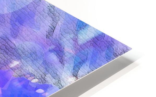 Textured Purple HD Sublimation Metal print