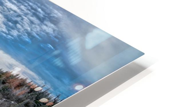 A Boreal Winter HD Sublimation Metal print
