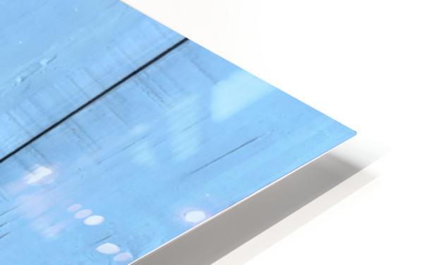 Blue Door HD Sublimation Metal print