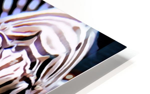Lion Fish HD Sublimation Metal print
