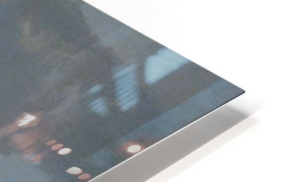 Schafherde auf der Weide HD Sublimation Metal print
