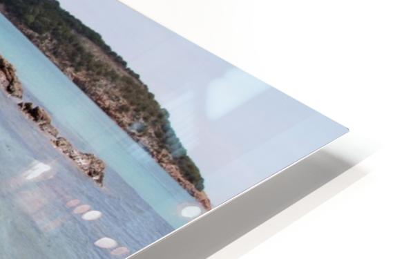 Rondinara beach in Corse HD Sublimation Metal print