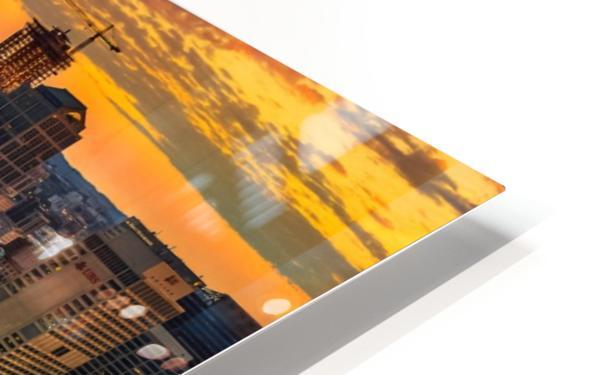 Nashville Sunset HD Sublimation Metal print
