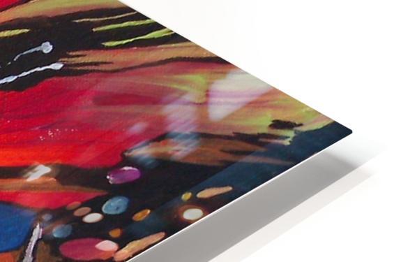 Crystals HD Sublimation Metal print
