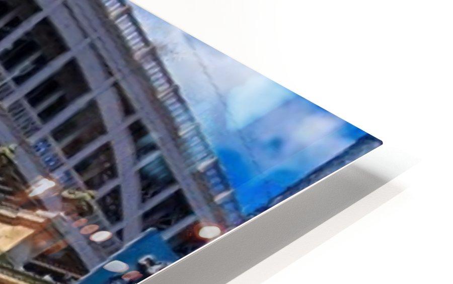 Newcastle railway bridge Impression de sublimation métal HD