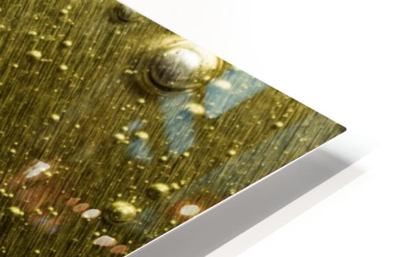 Gold Rush - Ruee vers l Or HD Sublimation Metal print