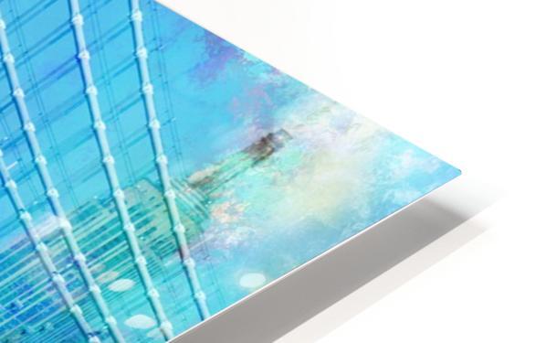 Manhattan Bridge HD Sublimation Metal print