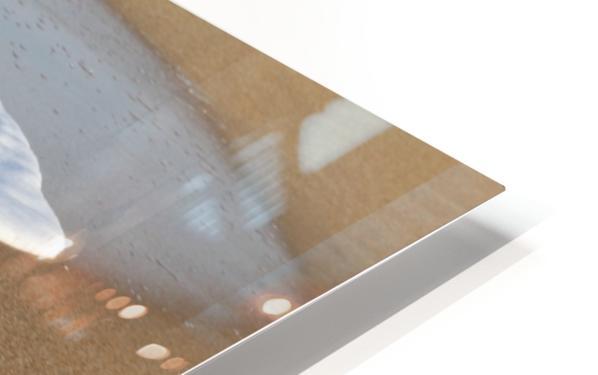 Sea Foam HD Sublimation Metal print