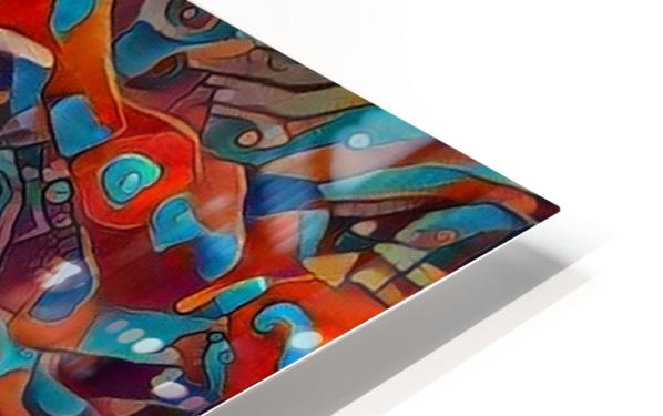 Colors in the bottle HD Sublimation Metal print
