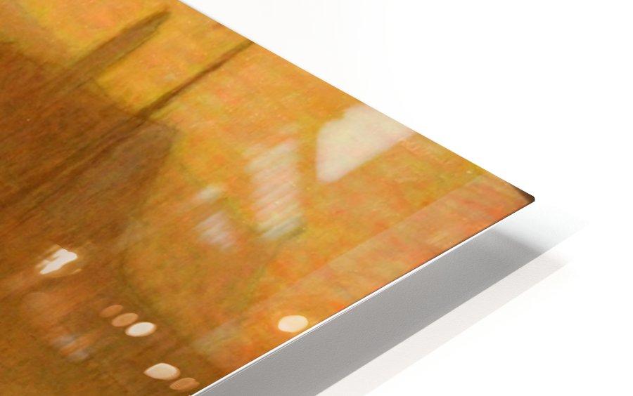Barque sur le Canal HD Sublimation Metal print