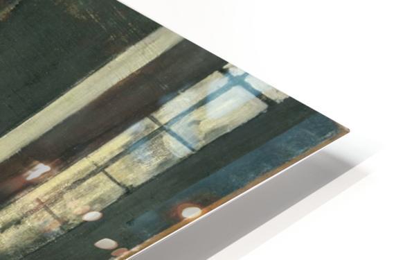 La Repetition au foyer de la danse HD Sublimation Metal print