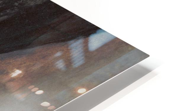 Selbstportrat als Lautenis HD Sublimation Metal print