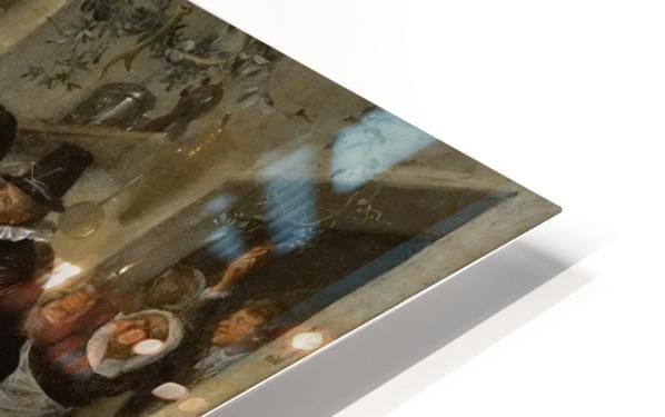 The cheated bridegroom HD Sublimation Metal print