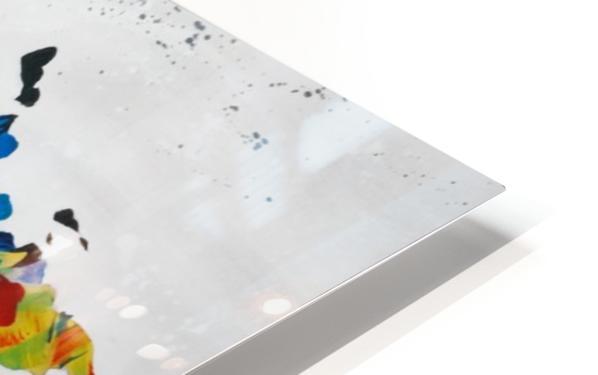Monde HD Sublimation Metal print