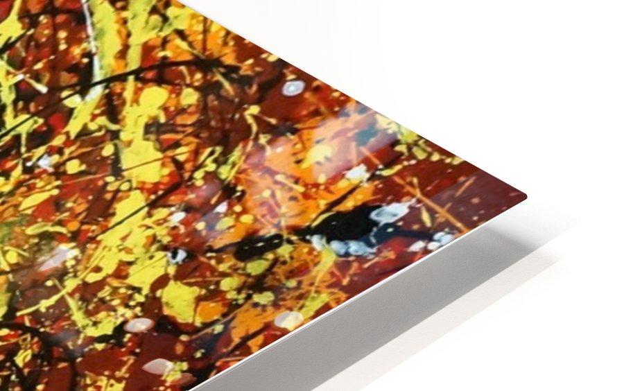 yellowy HD Sublimation Metal print