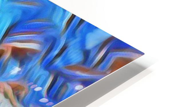 Swan Splash HD Sublimation Metal print