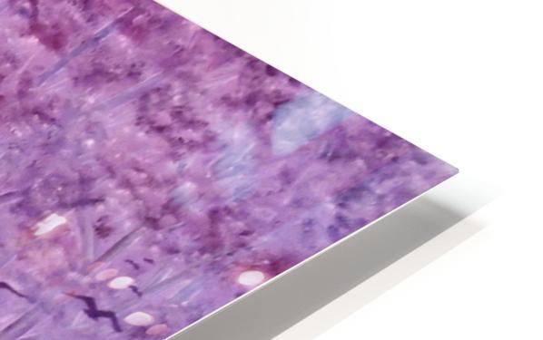 Purple Woods HD Sublimation Metal print