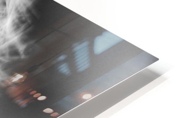 Dandylion black and White HD Sublimation Metal print