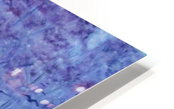 Lavender Woods HD Sublimation Metal print
