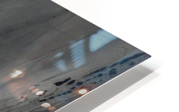 BLACK MARBLE HD Sublimation Metal print