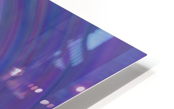 swirl color HD Sublimation Metal print