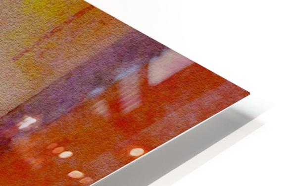FADED VIEWS HD Sublimation Metal print