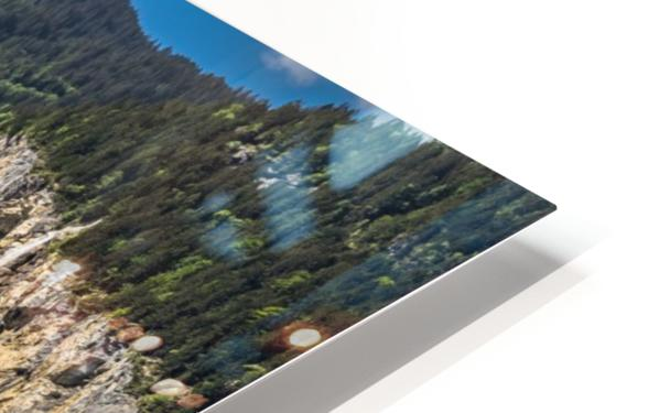 Valley of Waterfalls HD Sublimation Metal print