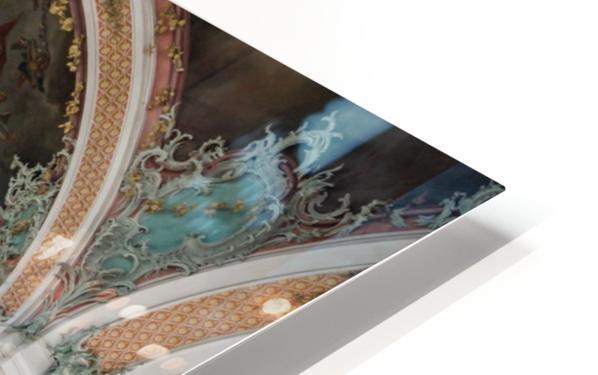 Church Pews HD Sublimation Metal print