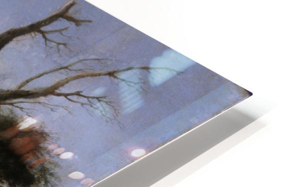 Halt of Travellers HD Sublimation Metal print
