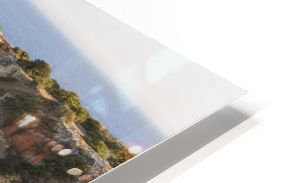 Praia de Marinha HD Sublimation Metal print