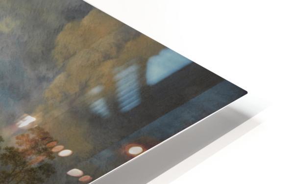 Reigerjacht HD Sublimation Metal print