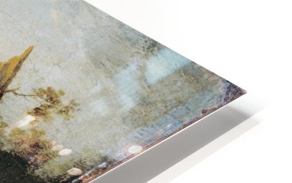 Sandbank with Travellers HD Sublimation Metal print