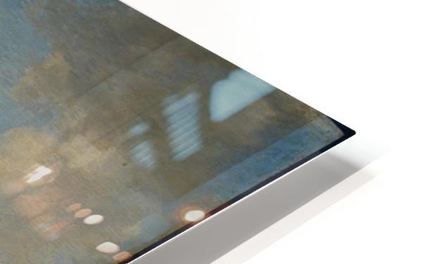 Paardenwed bij een rivier HD Sublimation Metal print