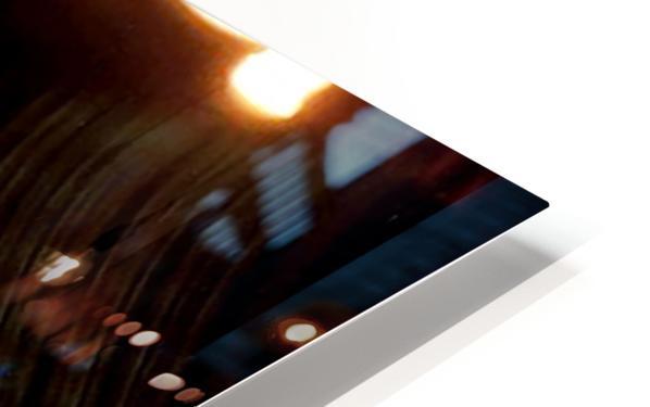 Dancing Light HD Sublimation Metal print