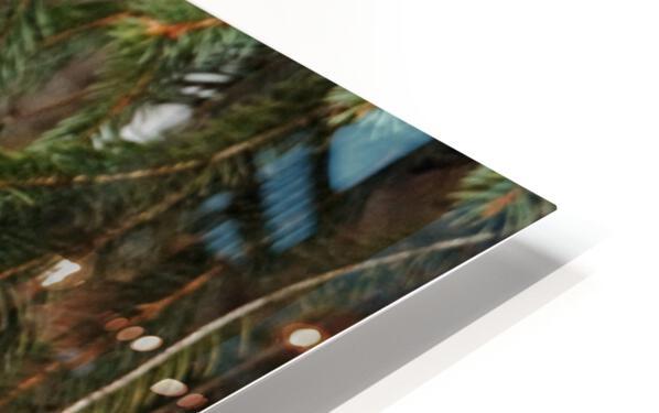 Brave Chickadee HD Sublimation Metal print