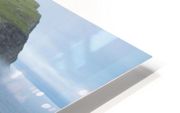 Faroe Cliffs HD Sublimation Metal print