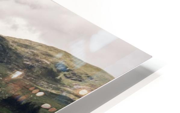 Rive de Loch Cluanie Impression de sublimation métal HD