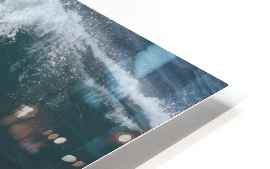 Breaking Wave HD Sublimation Metal print