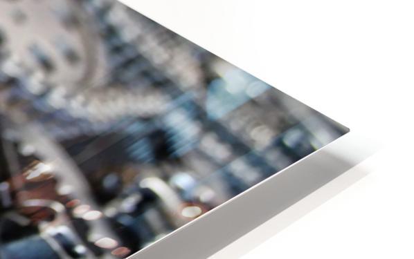 Cam chain HD Sublimation Metal print