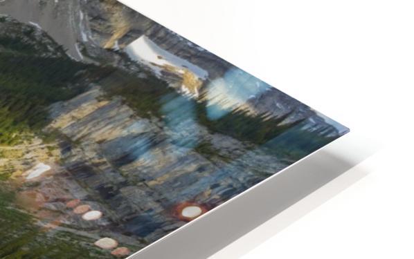 Upper elk lake  HD Sublimation Metal print