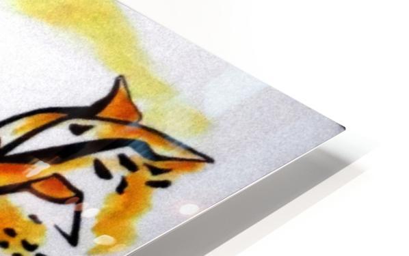 Cat Eyes HD Sublimation Metal print