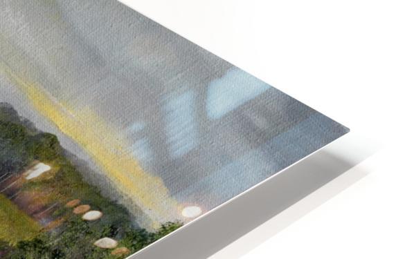 Sunshine Bridge at Cartecay Vineyard HD Sublimation Metal print